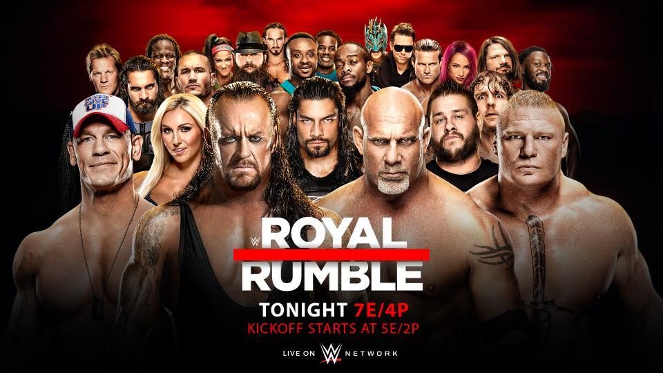 WWE 2017 Royal Rumble Preview – 9 Deuce