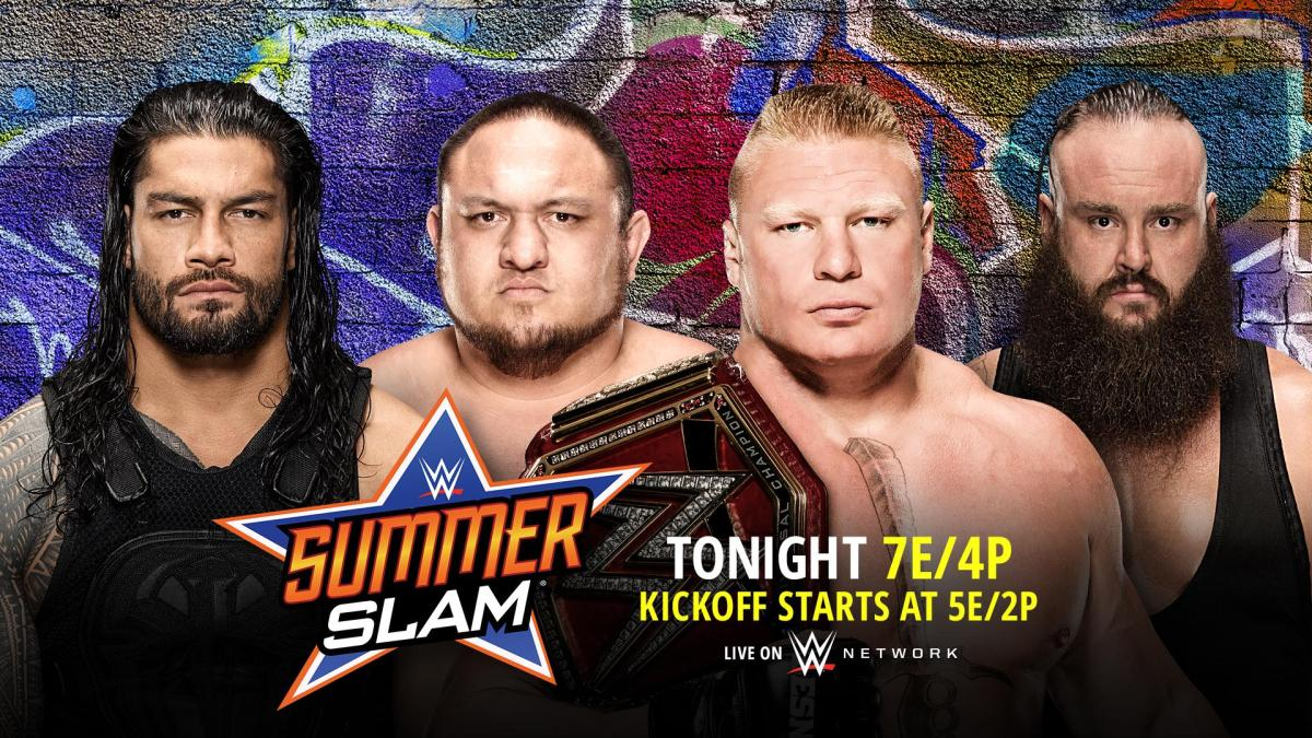 WWE 2017 Summerslam Preview – The 9 Deuce Deuce
