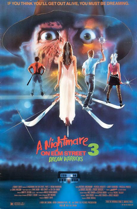 #59 A Nightmare on Elm Street 3: Dream Warriors (1987)