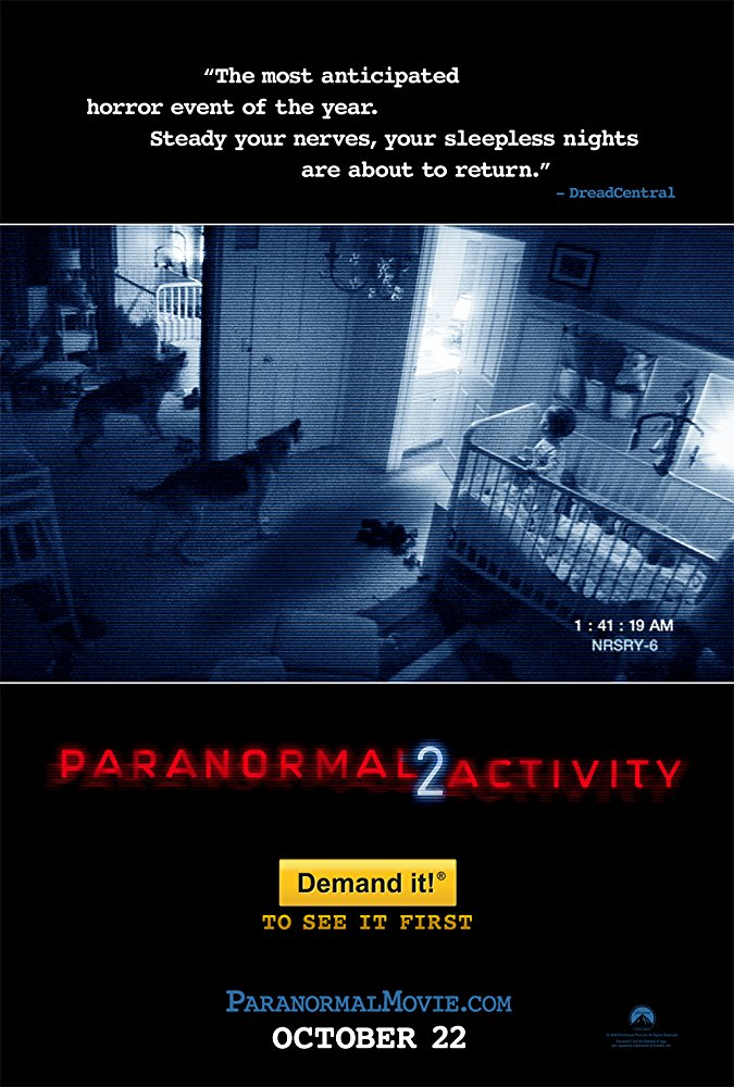 #123 Paranormal Activity 2 (2010)