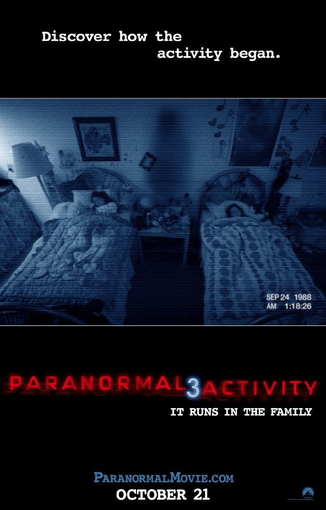 #124 Paranormal Activity 3 (2011)