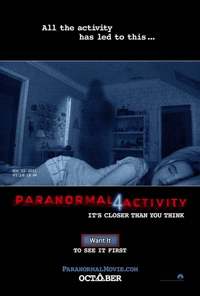 #125 Paranormal Activity 4 (2012)