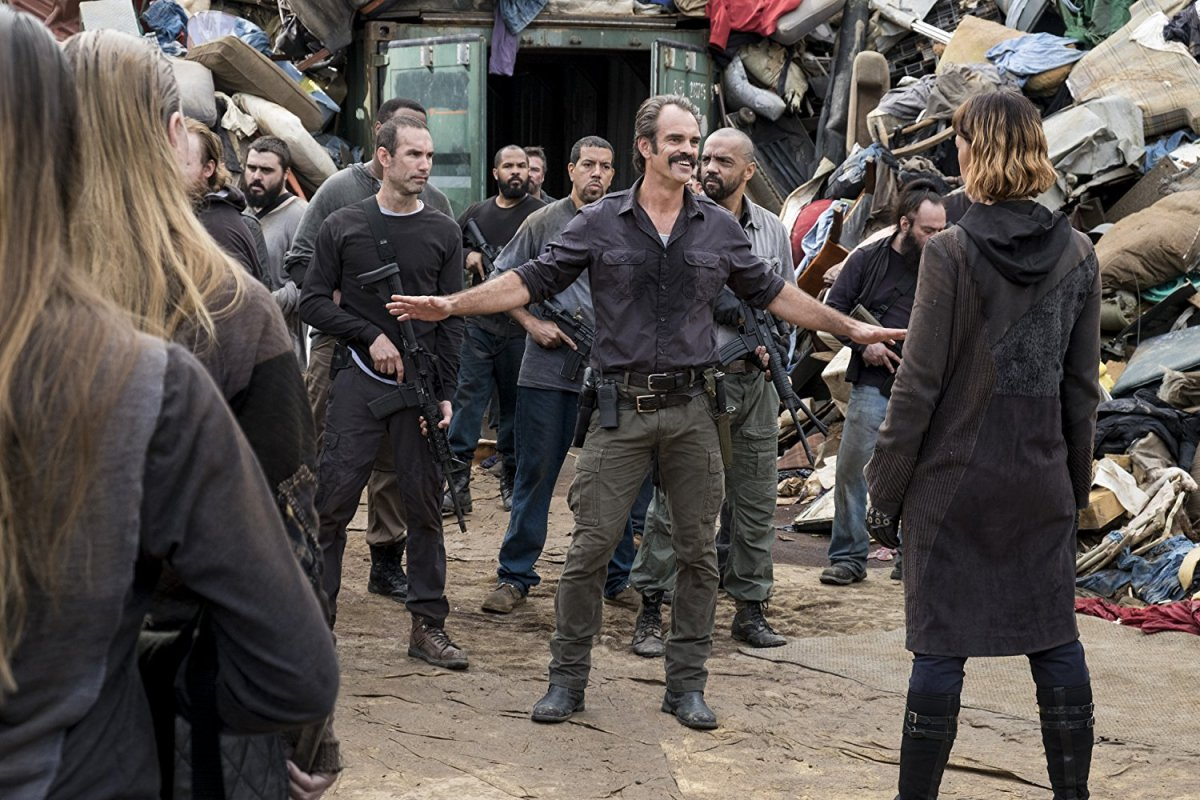 """The Walking Dead 9 Deuce: S:8 Ep:10 """"The Lost and the Plunderers"""""""