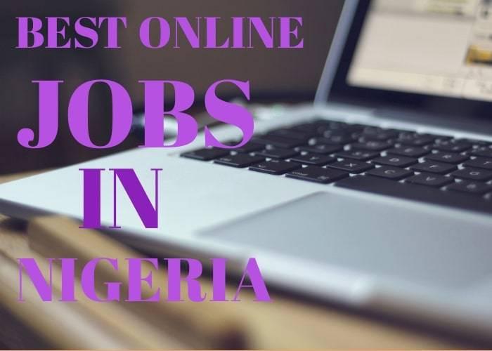 online jobs in Nigeria