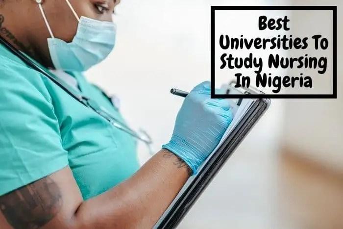 Universities to study nursing In Nigeria