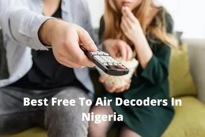 free to air decoders in Nigeria