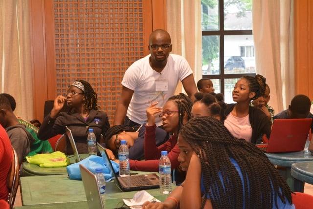 9jacodekids Nigerian teenagers coding