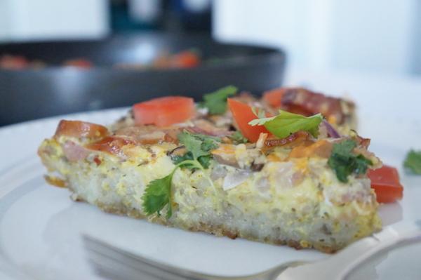 Breakfast  -Yam - Egg -  Cassarole - Nigerian - Food -  9jafoodie - original - yamzza - yamza