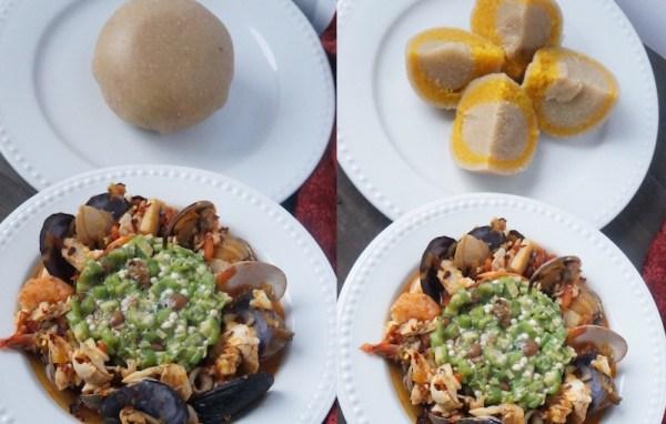 Yoruba style plain okra, today on Bloom Recipe