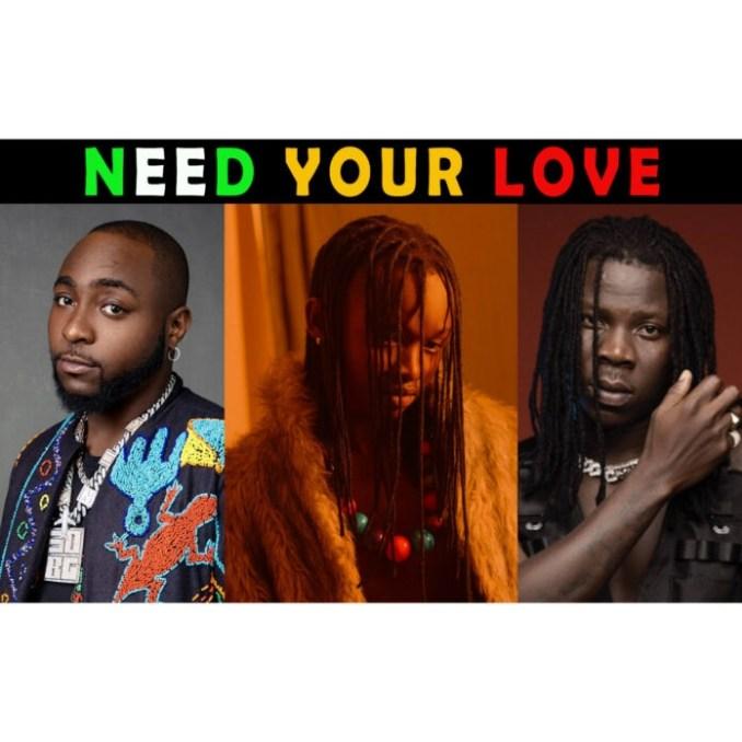 Ayanfe Ft. Davido Stonebwoy Need Your Love