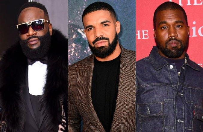 Rick Ross Drake Kanye West
