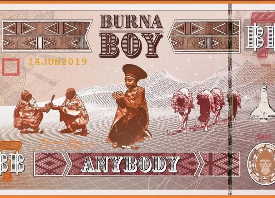 Download Burna Boy Anybody Audio