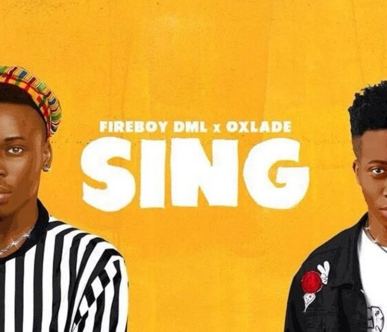 Fireboy DML – Sing Ft Oxlade Audio Download