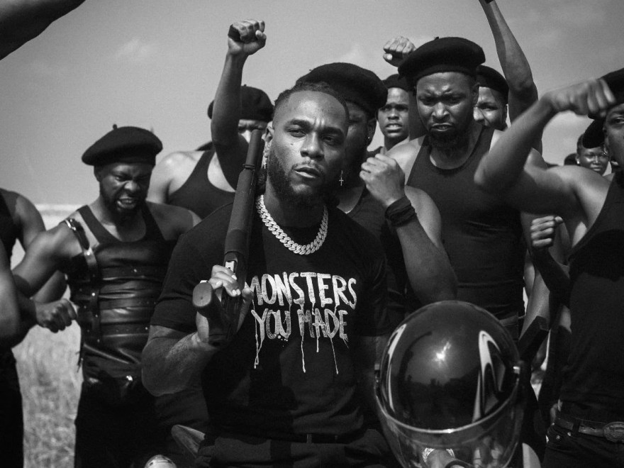 "Video Burna Boy Releases The Highly-Anticipated Visuals Of ""Monsters You Made"" Featuring Chris Martin"