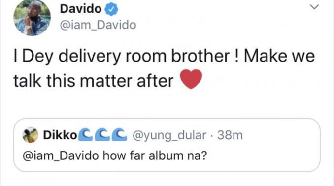 Congratulations!!! Davido And Chioma Welcomes Their First Child