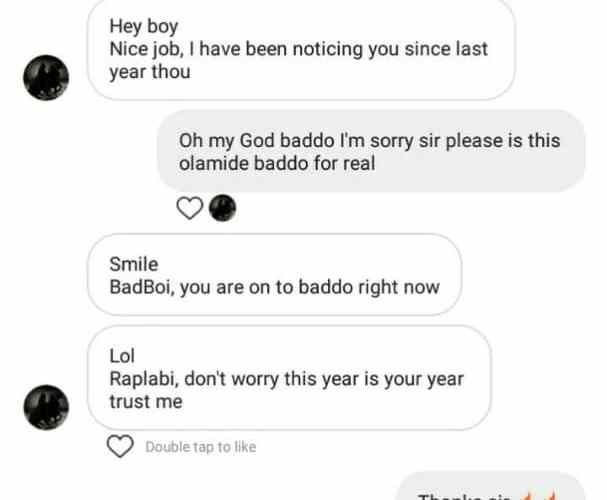 LEAK OUT! Olamide Is On Look On 'Don Geecy' For His New Artist (Photo)