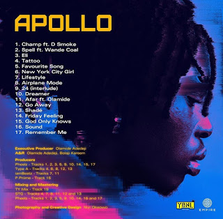 [Album] Fireboy DML – Apollo (Full Album)