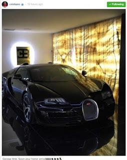 Cristiano Ronaldo Acquires Brand New Bugatti Veyron worth over $2million