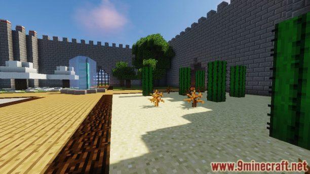 Mapa Capitão Defesa Para Minecraft 1.12.2 e 1.11.2