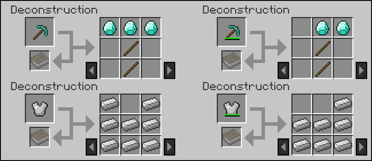 Deconstruction Table Mod Screenshots 3