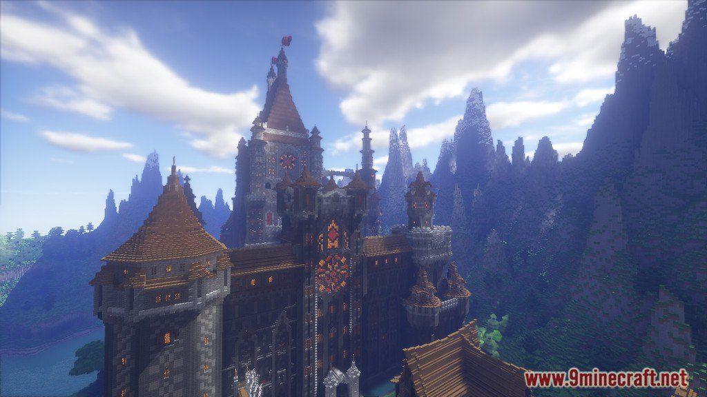 LEM Castle Map 11221112 For Minecraft
