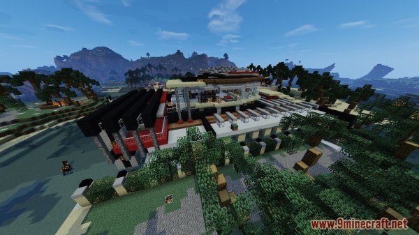 Luxurious Modern House 2 Map 11221112 for Minecraft