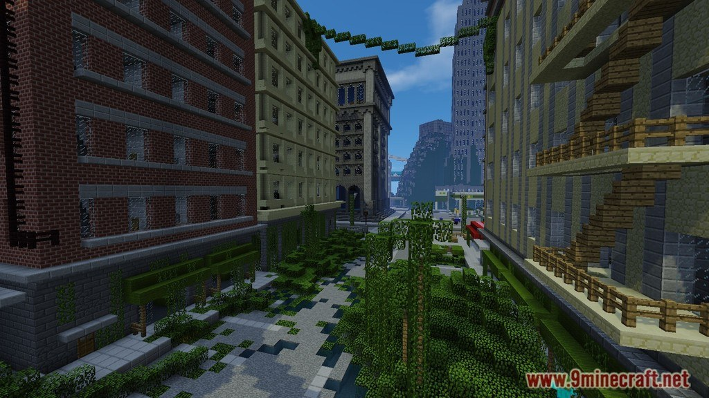 The Last Of Us Map 11221112 For Minecraft