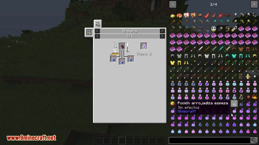 Combined Potions Mod 11211112