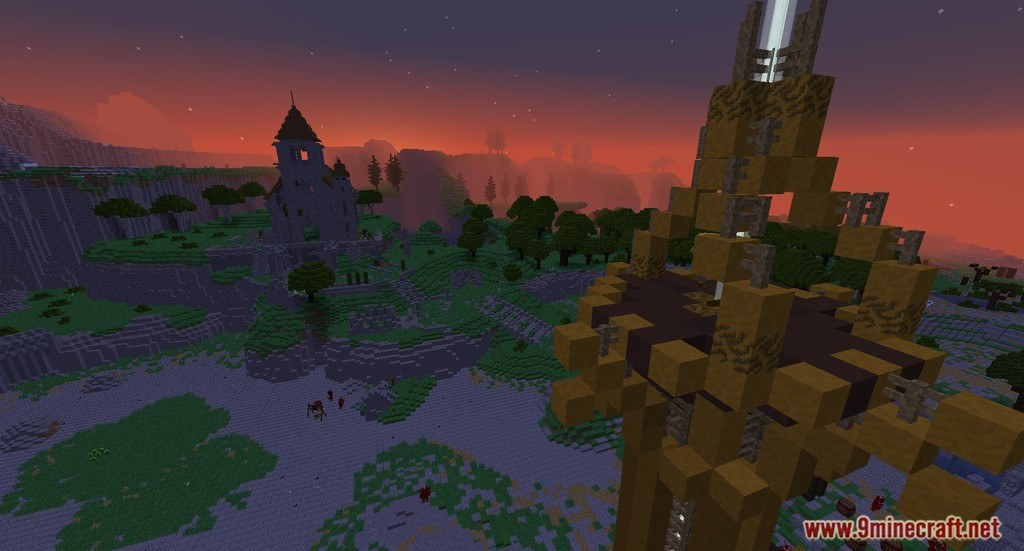 Zelda Breath Of The Wild Map 11221112 For Minecraft