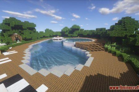 Minecraft Spielen Deutsch Minecraft Nice Huser Bild - Minecraft hauser mit pool