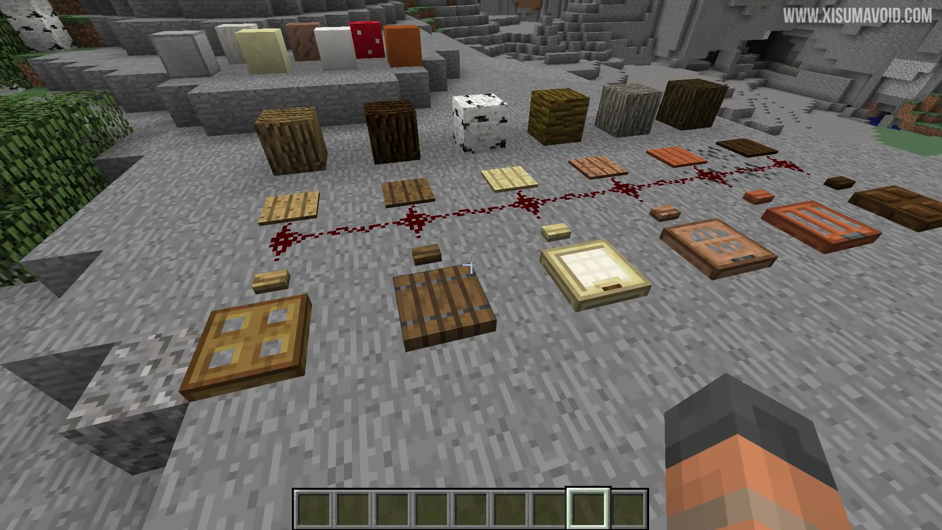 Block Every Item 7 Minecraft 1 And 2