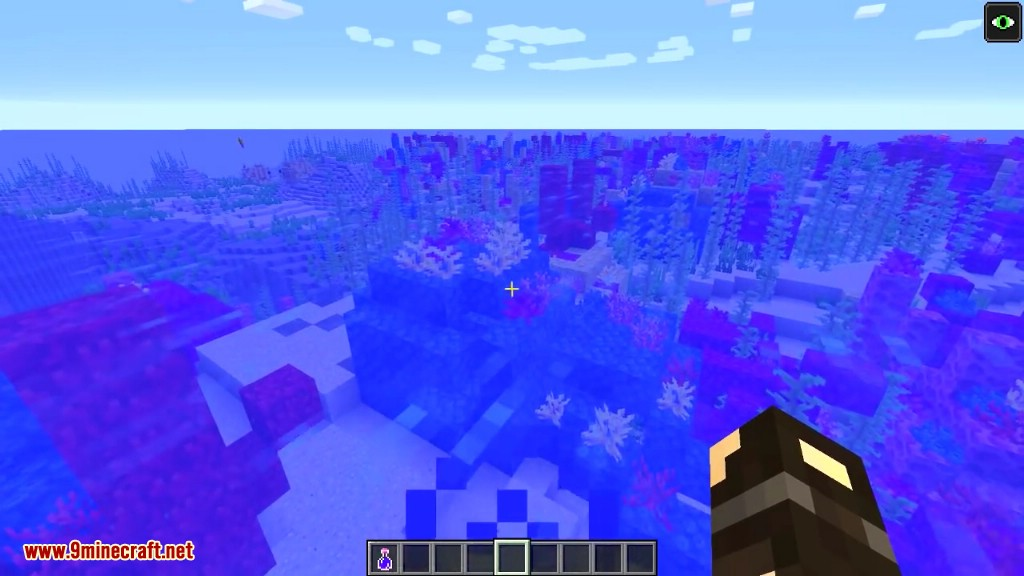 Minecraft 113 Snapshot 18w10d Coral Reefs Added
