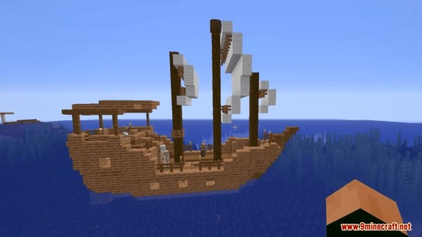 pirate ship minecraft # 63