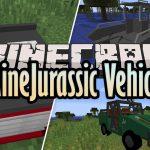 Minejurassic Vehicles Mod 1 12 2 Decoratons Vehicles 9minecraft Net