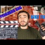clapperboard bag made with bike tubes