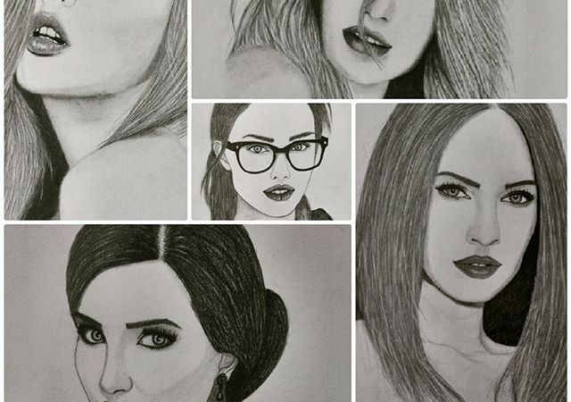 Meet this pencil sketch artist, You will fall with her artistic skills
