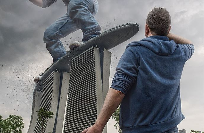 Dad Photoshops His Son Into Epic Scenarios Using His Expert-Manipulation Skills.