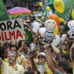 Protests in Brazil - 9 News