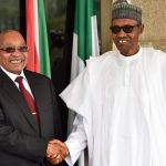 Zuma and Buhari in Nigeria - 9 News
