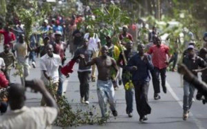 Kenyan Protesters Killed