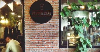 Favour Cafe'  เสน่ห์ร้านกาแฟที่ซ่อนอยู่ ณ ท่ามหาราช 4