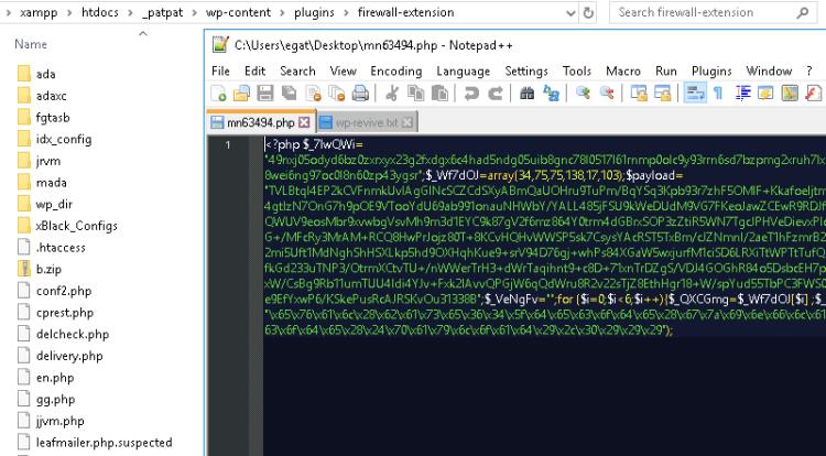 บันทึกการกู้คืน Hacked WordPress เว็บไซต์ 10