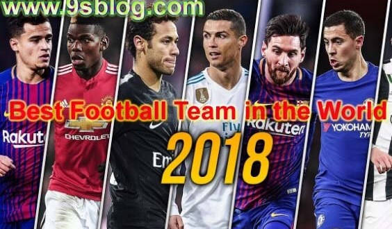 Best Football Team in the World of FIFA Ranking in June 2018