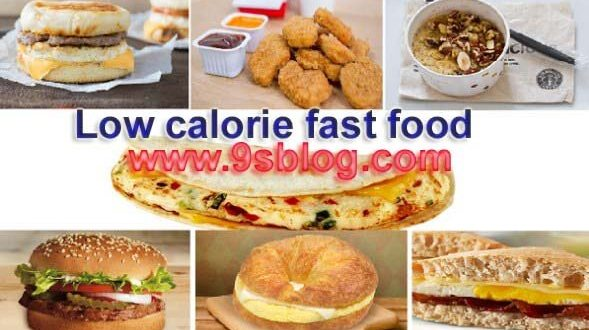 Best Low calorie fast food in Lunches for Good Health