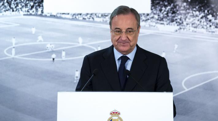 Florentino comments on PSG spending