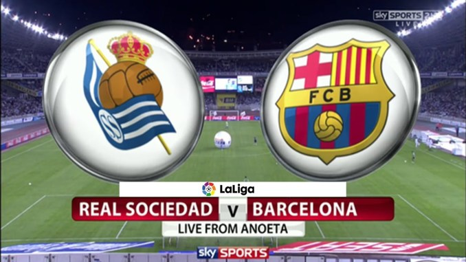 Both Teams Have Already Published Official Formations Real Sociedad Will Host The Match Against Barcelona