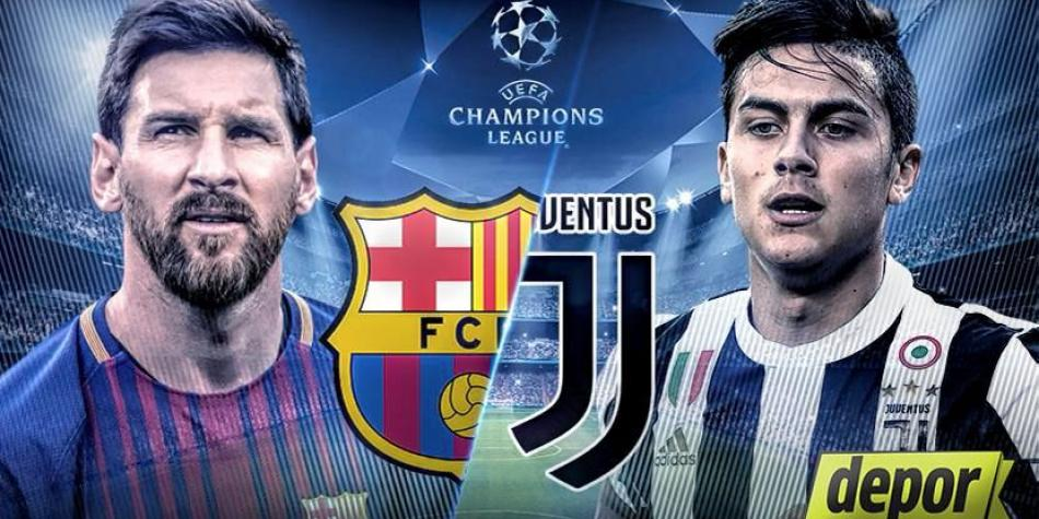 Official Formations Barcelona Vs Juventus