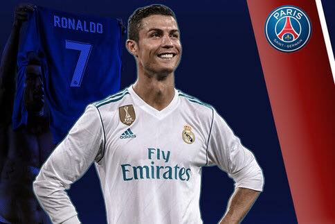 new arrival 43f7b eed0d The new monstrous offer of PSG for Ronaldo!