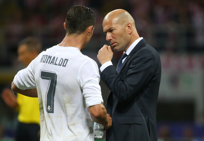 Here is what Zidane thinks for Ronaldo