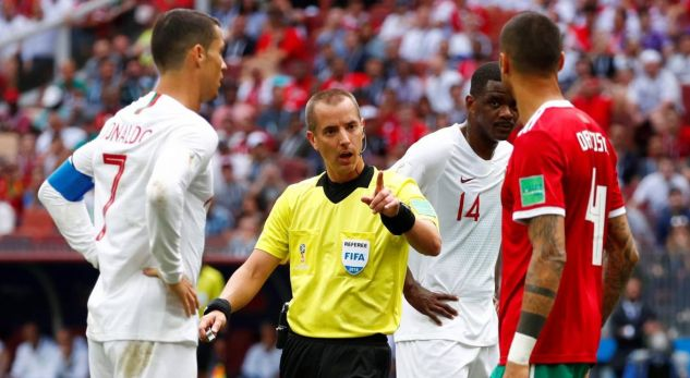 'Scandal' between Ronaldo and the referee, FIFA reacts